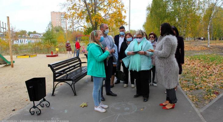 Есть замечания: в Рязани приняли результаты благоустройства Комсомольского парка
