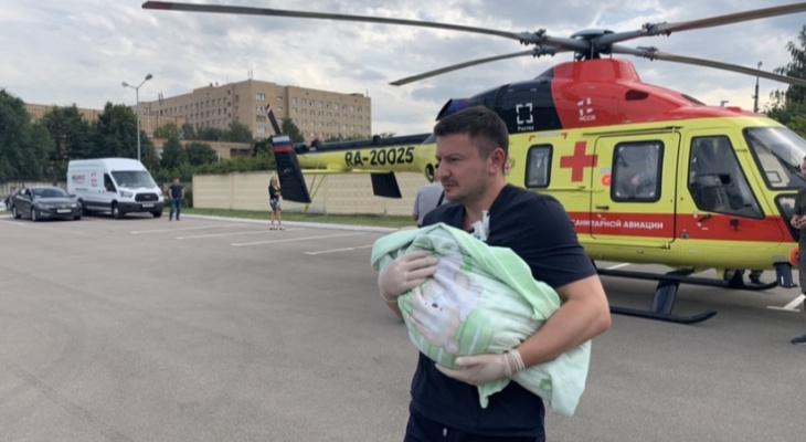 """Новый главврач ОКБ: """"Вертолет санитарной авиации совершил 50 вылетов"""""""