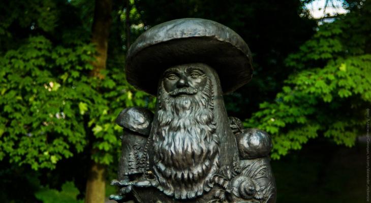 Рязанские грибы с глазами: в России выбирают самый необычный памятник