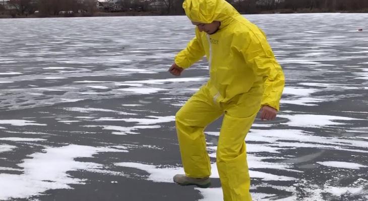 Рыбакам посвящается: МЧС просит рязанцев повременить с выходом на лед