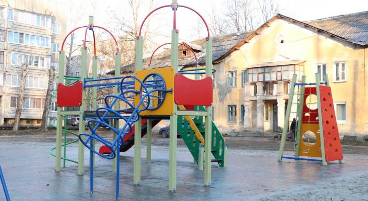 Есть недочеты: в Строителе приняли детскую площадку