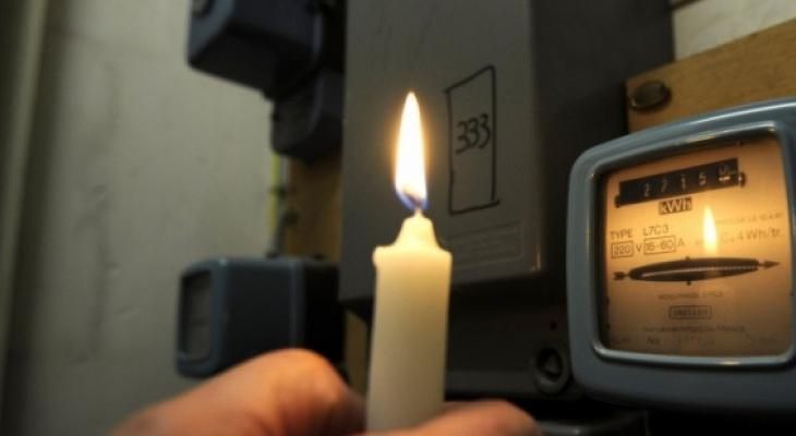 Список адресов: в понедельник и вторник часть Рязани останется без света