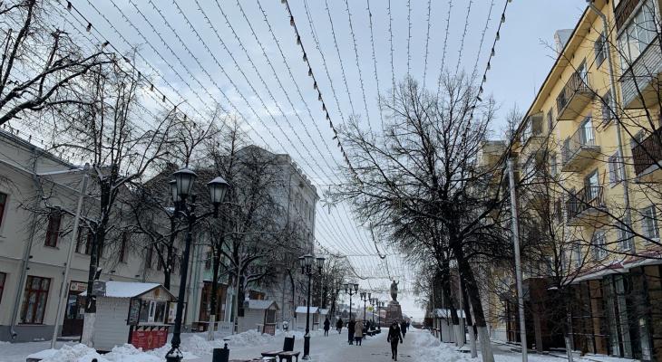 Готовимся дрожать на остановках: в понедельник в Рязани будет очень холодно