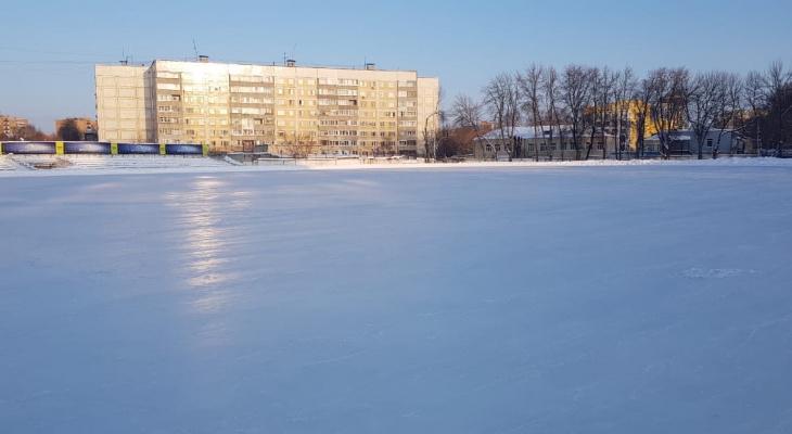 Каток на стадионе «Локомотив» заработал: расписание
