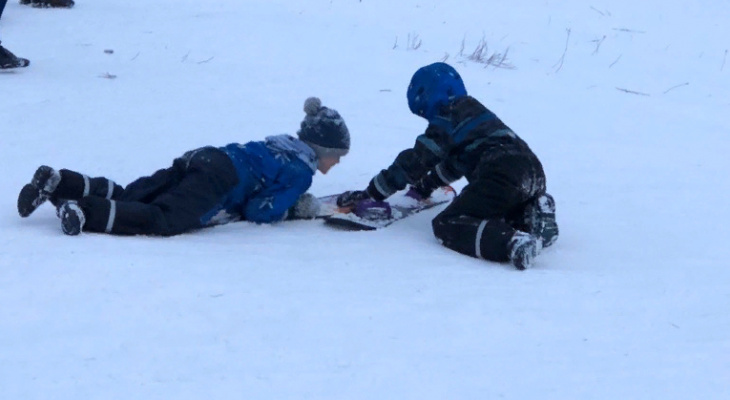 "Вместо ""дистанционки"": из-за мороза в семи районах области школьников оставили дома"