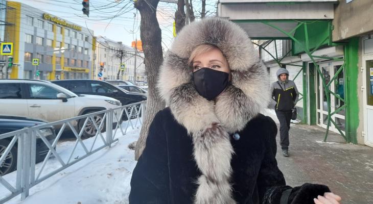 Вывернули кисть: в Ярославле нарушительницу масочного режима посадили в автозак