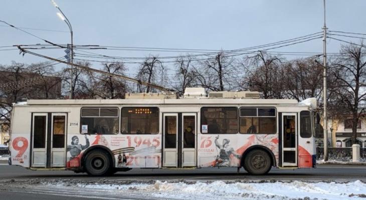 Аномальный снегопад: мэрия просит рязанцев пересесть на общественный транспорт