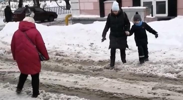 Наказание: администрацию Рязани оштрафовали за неубранный снег