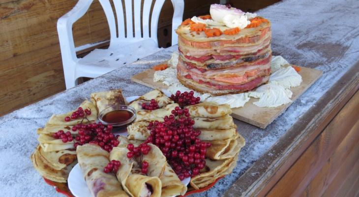 Обжорная Масленица: необычные рецепты блинов