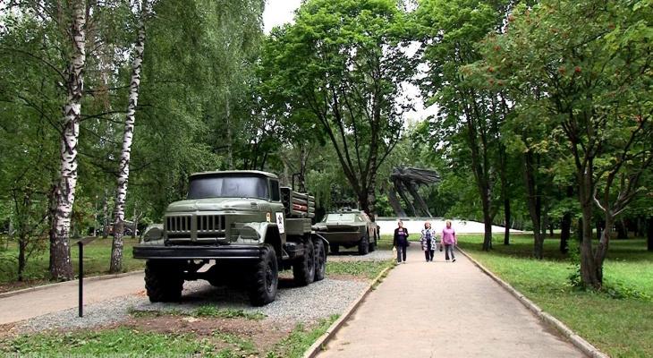 40 миллионов: в Рязани благоустроят парк Советско-Польского братства