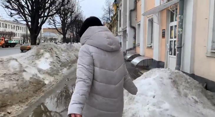 LIVE: оцениваем уровень уборки в центре Рязани