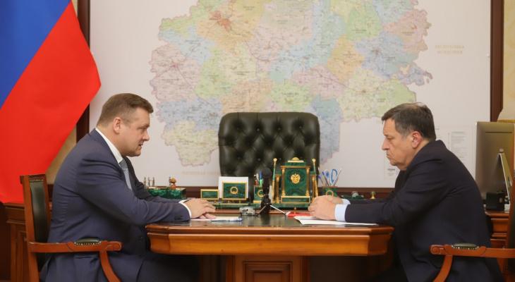 Рабочая встреча: Николай Любимов обсудил с депутатом здравоохранение и дороги