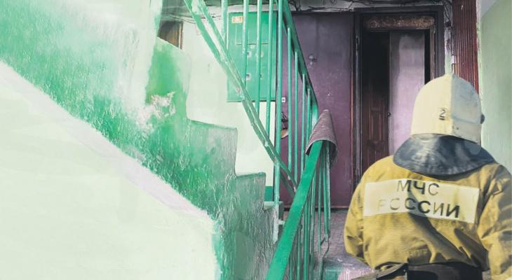 Эвакуировали 10 человек: в Дашково-Песочне загорелась девятиэтажка