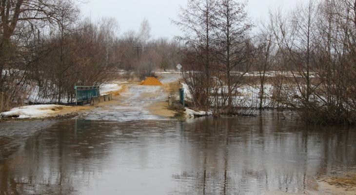 Ищите объезд: в Александро-Невском районе затопило мост