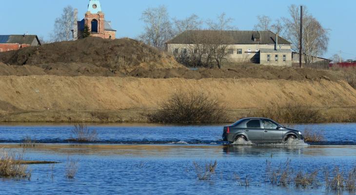Еще выше: уровень воды в Оке поднялся на 20 сантиметров