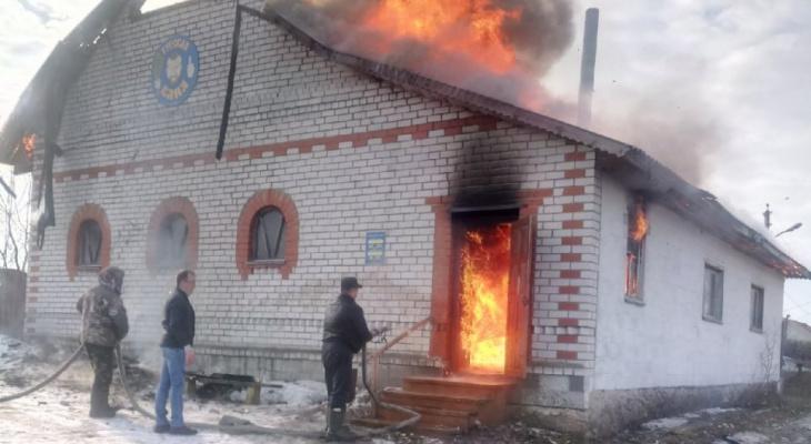 Допарились: в рязанском поселке произошел пожар