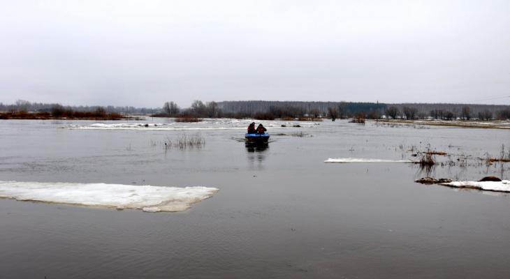 Заливает: уровень воды в Оке повысился на 73 сантиметра