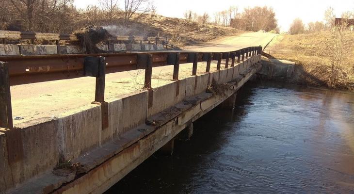 Можно ехать: в Кораблинском районе два моста освободились от воды