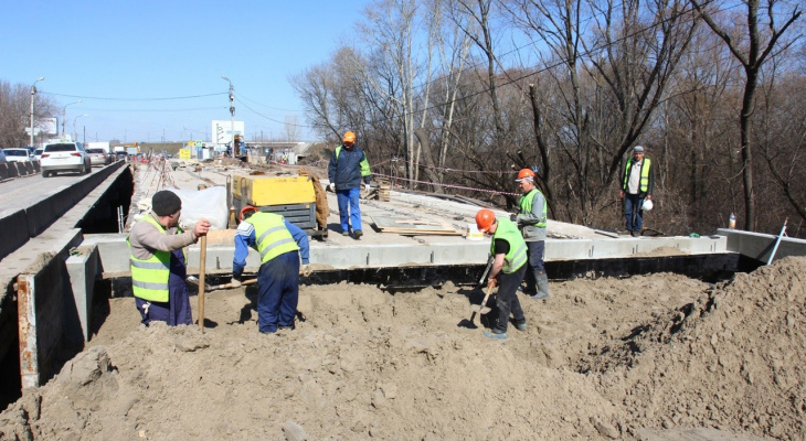 Сорокина: на следующей неделе отремонтируют мост через Трубеж
