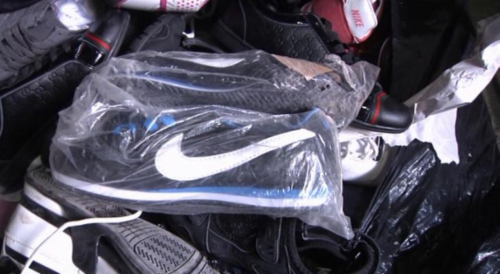 Абибас: в Скопине арестовали партию поддельной спортивной одежды
