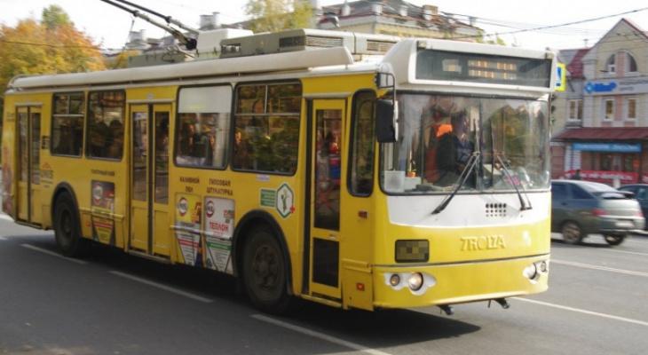 Перенос сетей: из-за реконструкции Касимовского шоссе временно закроют движение троллейбусов