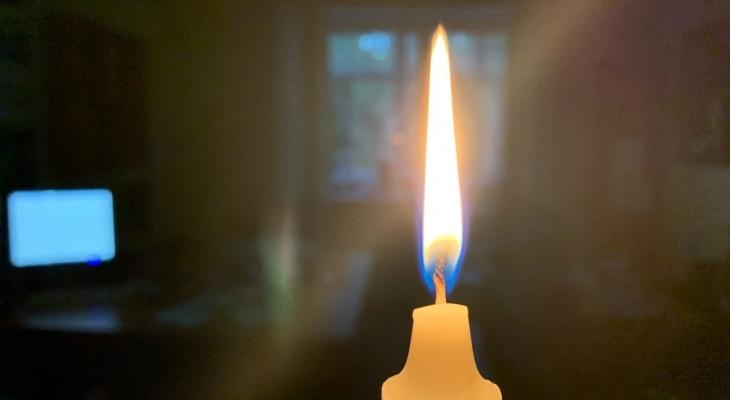 С понедельника: в Рязани отключат свет на три дня