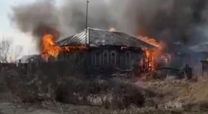 Пожары прошлой недели: в Рязанской области огонь уничтожил две деревни