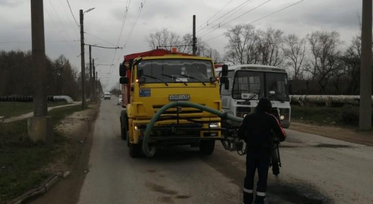 Соцсети: после критики Любимова начали латать Промышленную