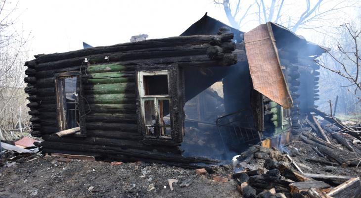 Вспыхнули как спички: в Сараевском районе из-за пала травы сгорело два дома