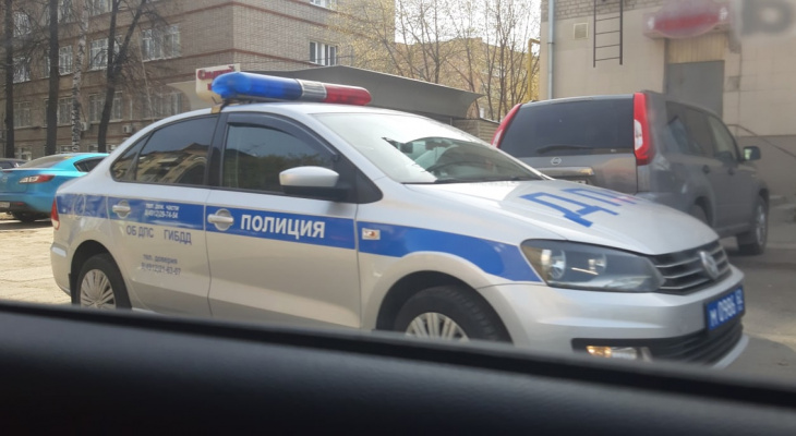 ДТП в Пронском районе: столкнулись три машины