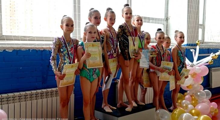 38 медалей: в Рязани прошло первенство по художественной гимнастике