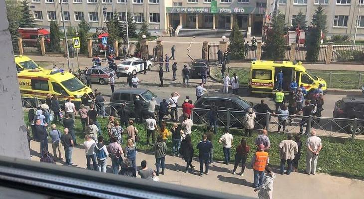 В Казани неизвестный устроил стрельбу в школе: всё, что известно на данный момент