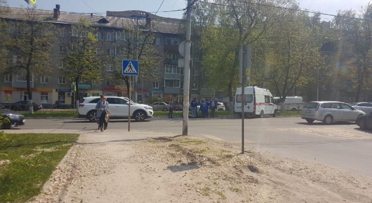 К счастью, обошлось: в центре Рязани сбили пешехода