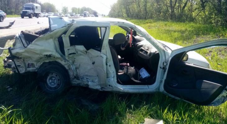 Смертельное ДТП: в Рыбновском районе в аварии погиб человек