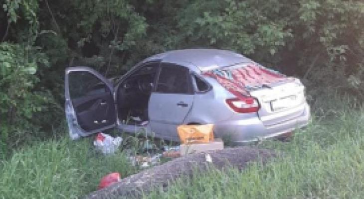 Водитель погиб: в выходные в Шацком районе произошло ДТП