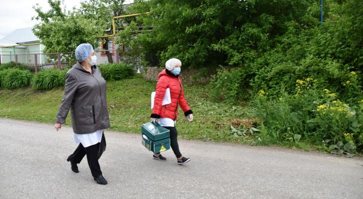 Ковид: в Михайловском районе начали вакцинацию на дому