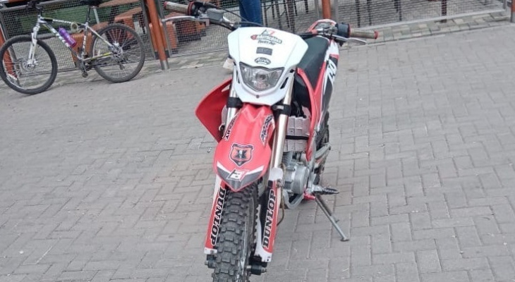 Ездил без прав: в Рязани поймали подростка на мотоцикле