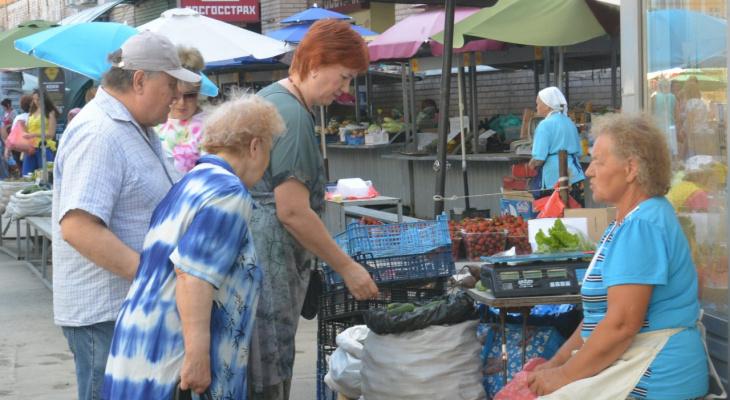 """""""У меня пенсия 10 тысяч рублей"""": бабушка попыталась продать помидоры на ярмарке выходного дня, но ее прогнали"""