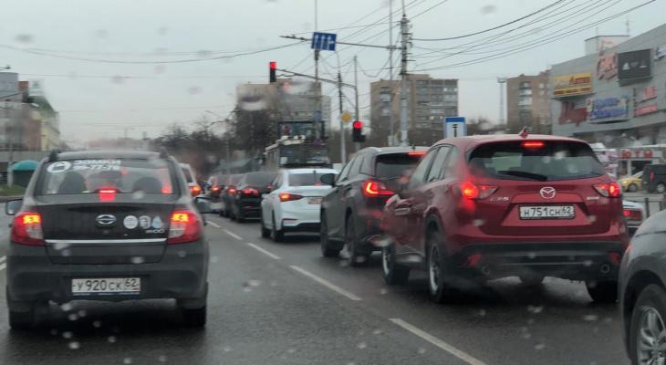"""""""Давайте разгрузим перекрестки"""": у рязанцев есть идея, как избавить улицу Крупской от пробок"""