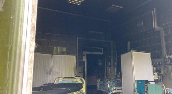 Срочно: названа возможная причина пожара в больнице имени Семашко