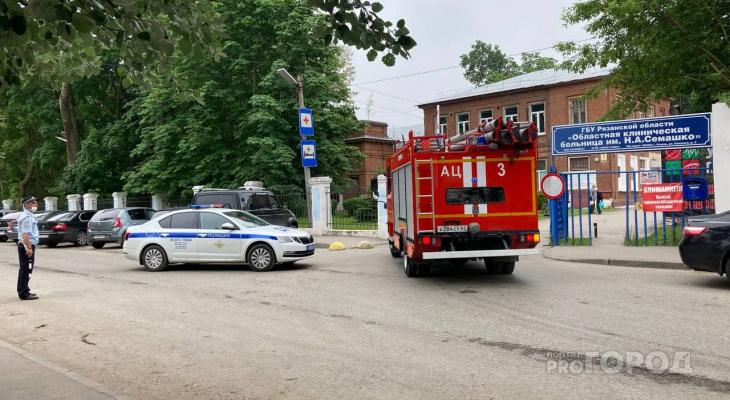 Две дежурные медсестры пытались потушить пожар в Семашко до приезда спасателей