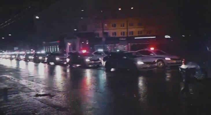 Ночной сбор полиции: что происходило на площади Ленина
