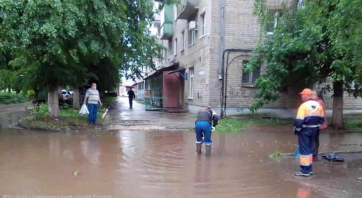 Мэрия: в Рязани ведутся работы по очистке ливнёвок