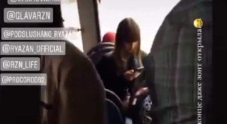 Рязанский ливень победил троллейбус из Москвы: видео