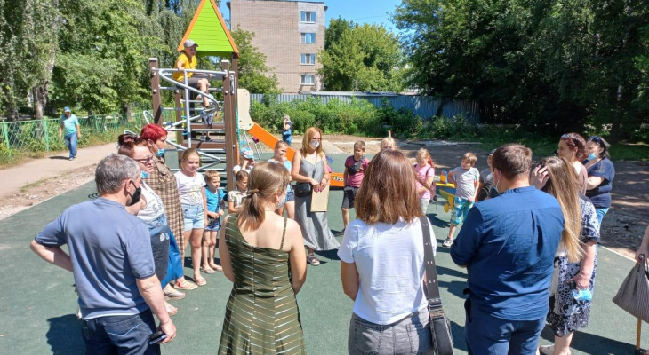 На Забайкальской появился сквер «Бабушкина радость»