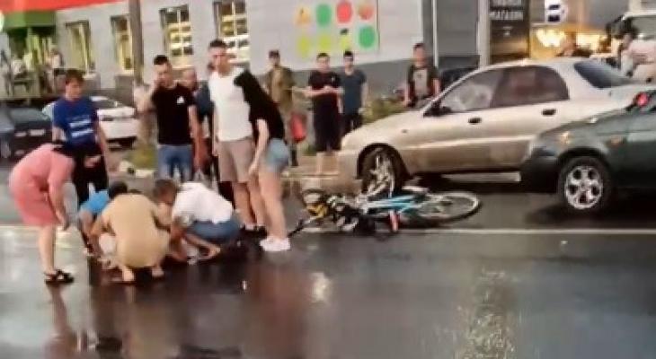 ДТП на Михайловском: мотоциклист, сбивший ребенка, был пьян