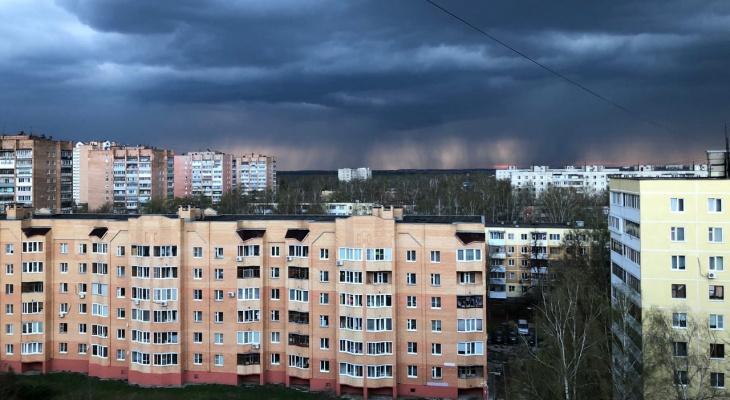 Метеопредупреждение: в Рязанской области пройдут сухие грозы