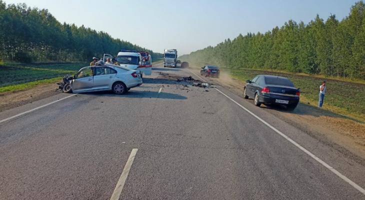 Трое погибших: в Александро-Невском районе произошло смертельное ДТП