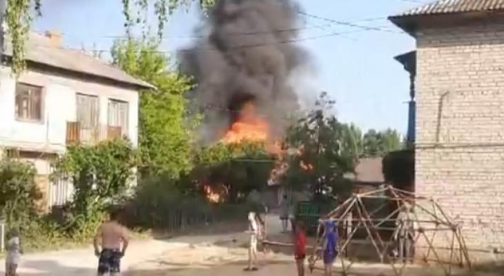 Соцсети: в Касимове загорелись гаражи