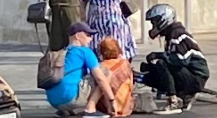 Извинился и скрылся: в центре Рязани велосипедист сбил пенсионерку